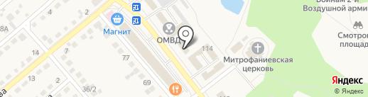 Семилукский районный суд на карте Семилуков