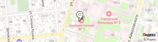 ProfОптика на карте Краснодара