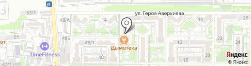 Лемаргус на карте Краснодара