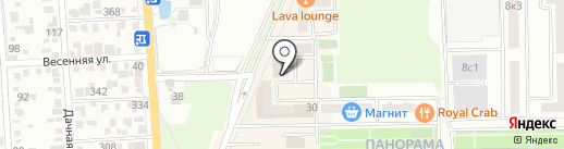 Солнышко на карте Краснодара