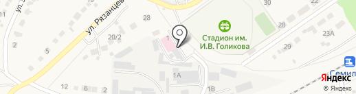 Семилукское потребительское общество на карте Семилуков