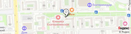 Сорока & Ёж на карте Краснодара