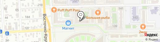 Магазин товаров для ногтевых студий на карте Краснодара