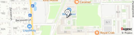 Адвокатский кабинет Григорьева Д.Ю. на карте Краснодара