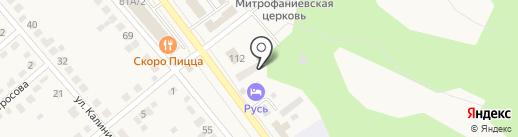 Семилукский районный отдел судебных приставов на карте Семилуков
