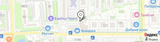 FSтудия на карте Краснодара