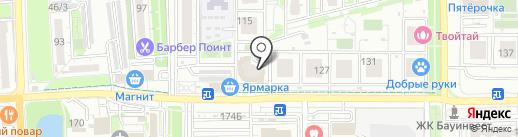 Мастер-мэн на карте Краснодара