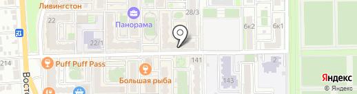 Лето продукты на карте Краснодара