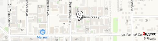 Selena на карте Российского