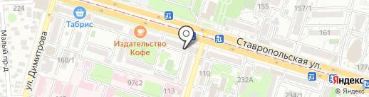 Акуна Матата на карте Краснодара