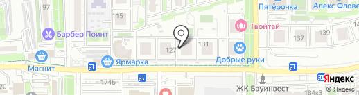 Сантехопт на карте Краснодара