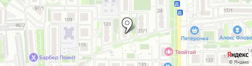 Т & A на карте Краснодара