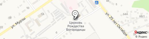 Церковь Рождества Пресвятой Богородицы на карте Семилуков