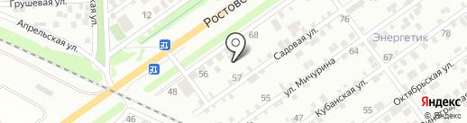 Кубаньэкопродукт на карте Краснодара