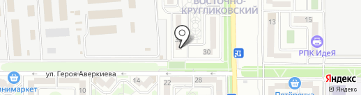 Городок на карте Краснодара