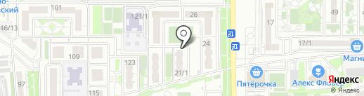Nail room на карте Краснодара