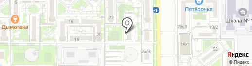 Veranda на карте Краснодара