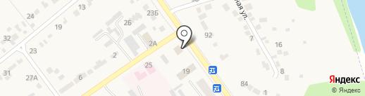 Военный комиссариат Семилукского района Воронежской области на карте Семилуков