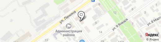 Шарм на карте Семилуков