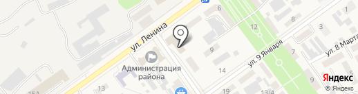 Алекса на карте Семилуков