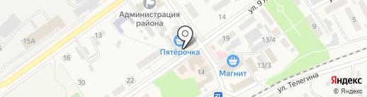 Студия красоты Галины Самсовой на карте Семилуков