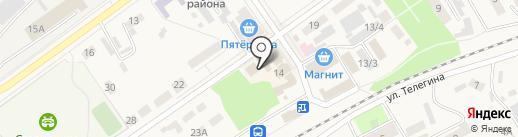 Управление Федерального казначейства по Воронежской области на карте Семилуков