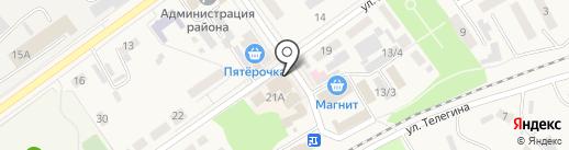 Банкомат, Сбербанк, ПАО на карте Семилуков
