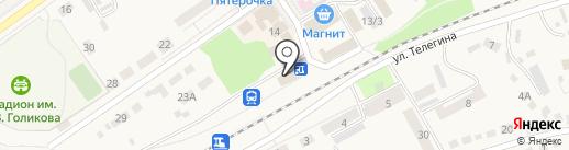 Дубки на карте Семилуков