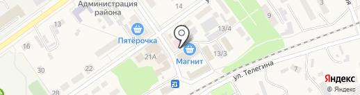 Ермолино на карте Семилуков