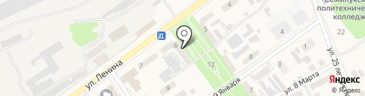 Почтовое отделение №1 на карте Семилуков