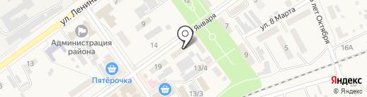 Транспортная компания на карте Семилуков
