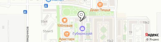 ЮгСтройИнвест Кубань на карте Краснодара