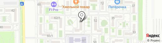 Восточно-Кругликовская на карте Краснодара