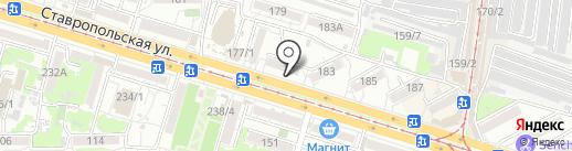 CopyService на карте Краснодара