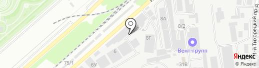 Станция №1 на карте Краснодара