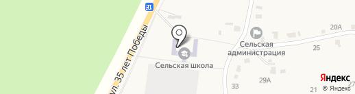 Семилукская сельская средняя общеобразовательная школа на карте Семилуков