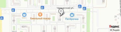 Изобилие на карте Краснодара