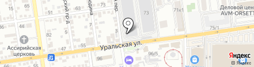 Митист Групп на карте Краснодара