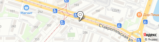 Анечка на карте Краснодара