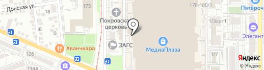 Магазин часов на карте Краснодара