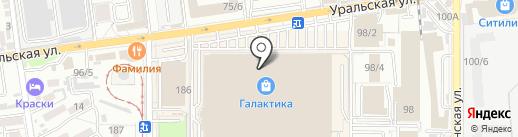 My box на карте Краснодара