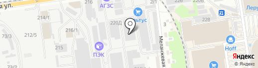СтройКомплект-Кавказ на карте Краснодара