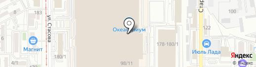 Москва на карте Краснодара