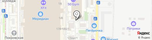ЭСПЕ на карте Краснодара