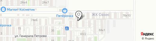 Конкорд на карте Краснодара