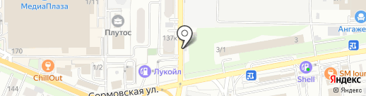 Уровень на карте Краснодара