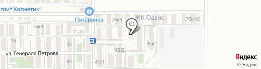 Конкорд на карте Российского