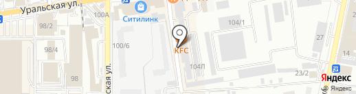 Автотехцентр Mercedes, Audi, BMW на карте Краснодара