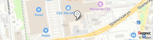 Q-Zar на карте Краснодара