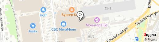 M.M.A. imperia.ru на карте Краснодара